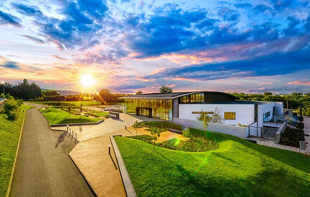 Die Scientology Kirche mit ihrem Gemeindezentrum in Dublin steht allen offen