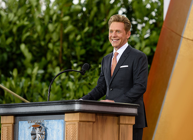 Mr. David Miscavige. Milestone Moment