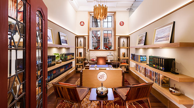 Church of Scientology Auckland. Office of L. Ron Hubbard