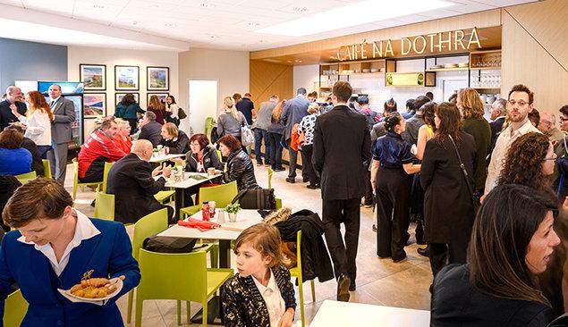 Η Καφετέρια Na Dothra της Εκκλησίας της Scientology και Κοινοτικού Κέντρου του Δουβλίνου