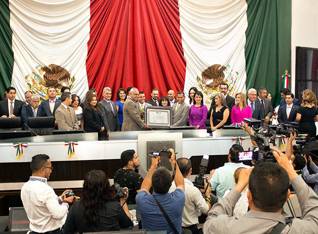 Narconon Navojoa honored