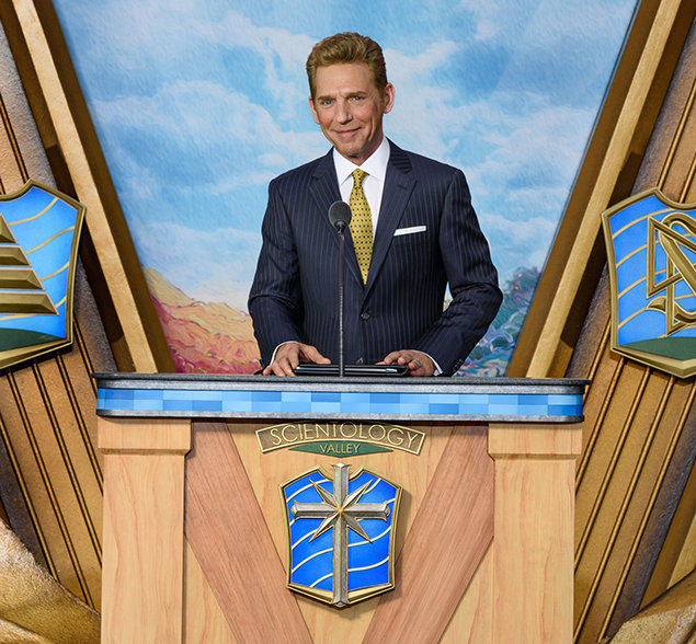 Mr. David Miscavige. Chairman of the Board Religious Technology Center