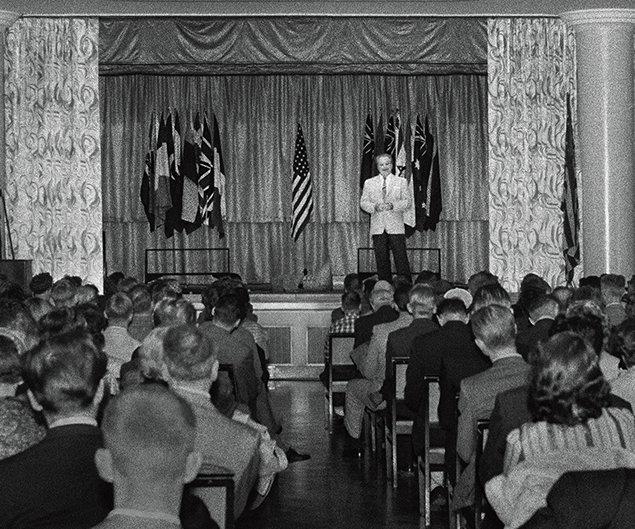 L.Ron Hubbard. Congrès de la mise au clair