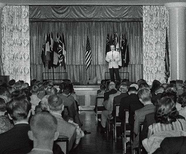 L. Ron Hubbard. Congresso sul Clearing