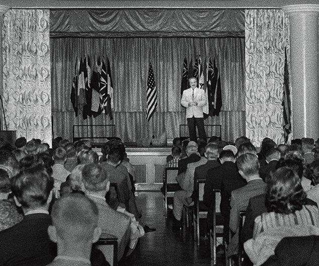L. ロン ハバード。 クリアリング会議