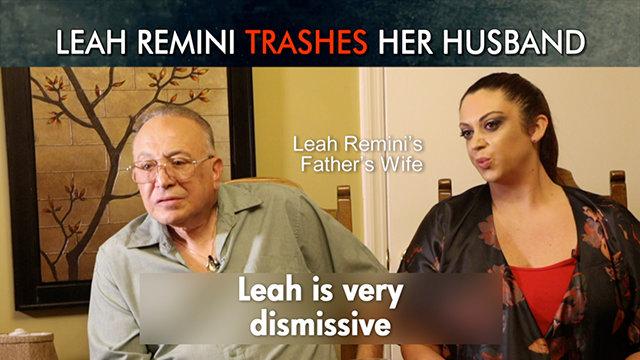 Leah Remini Trashes Her Husband