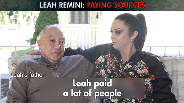 Leah Remini: Paying Sources