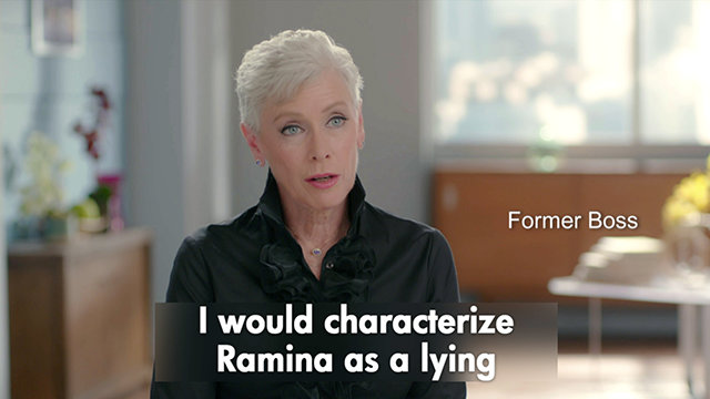 Former Boss on Ramina Nunnalee