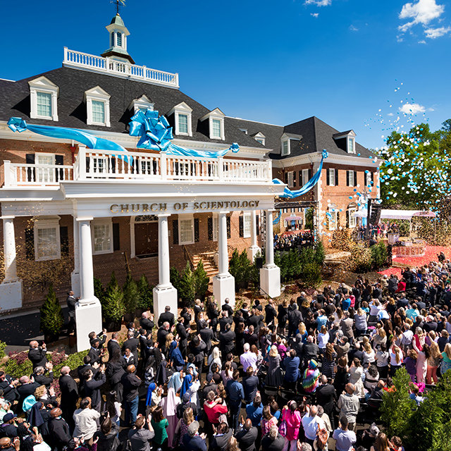 Grand opening of the Church of Scientology in Atlanta, Georgia