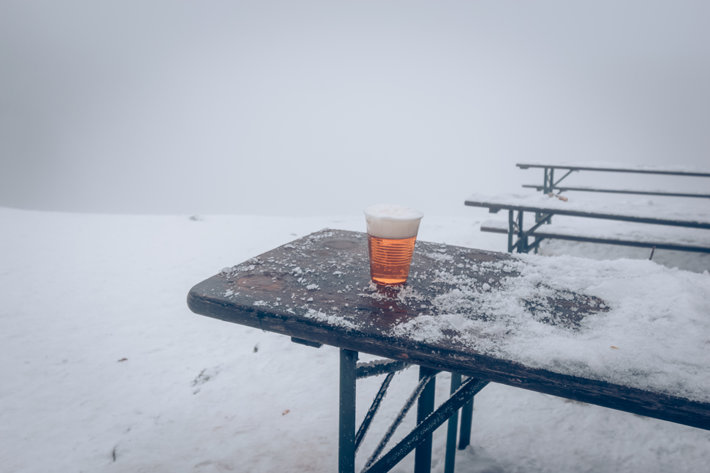 Beer in winter