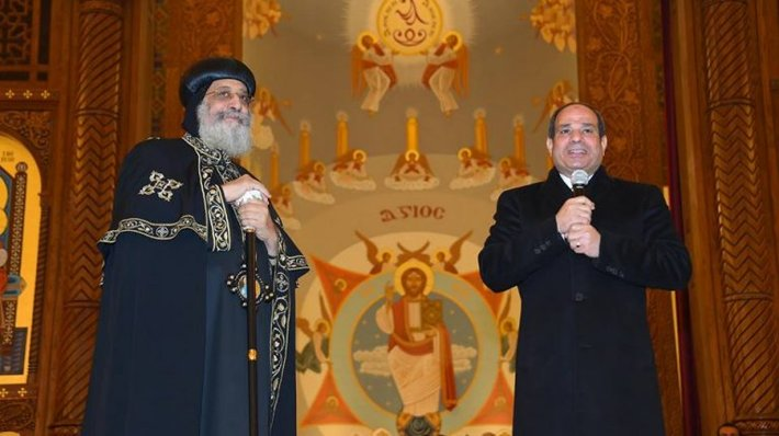 Dedication of new Coptic cathedral in Egypt