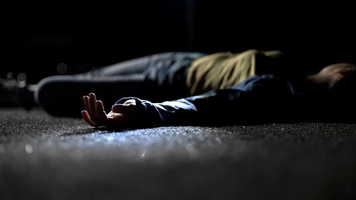 Overdose female at night