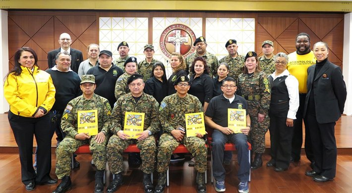 United Hispanic Veterans Inc., at a special workshop on the Volunteer Ministers program at the Church of Scientology Harlem Community Center.