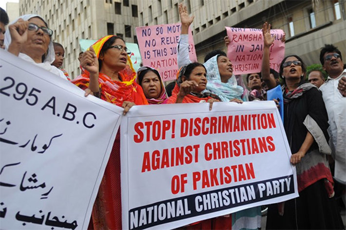 Demonstration against blasphemy laws