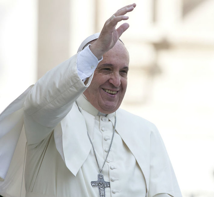 Pope Francis. photo by Giulio Napolitano (Shutterstock.com)