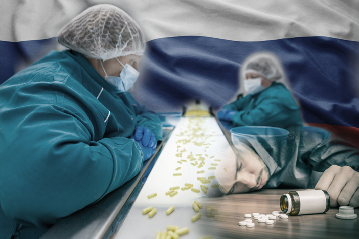 Industrial production of prescriptions in Russia and ODs