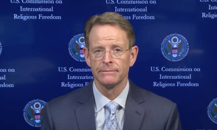 USCIRF Chair Tony Perkins (twitter.com)