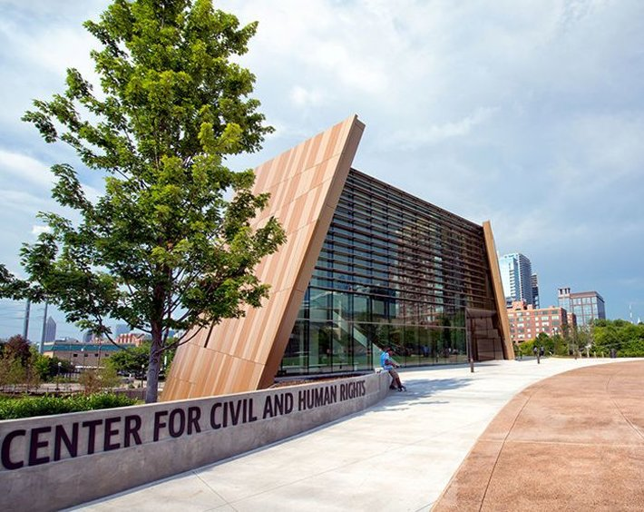 Atlanta's National Center for Civil and Human Rights . (Credit: Gene Phillips Photography)