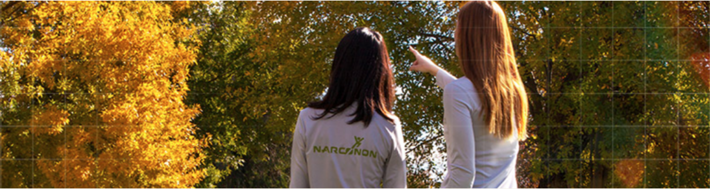 Students doiong the Narconon Program