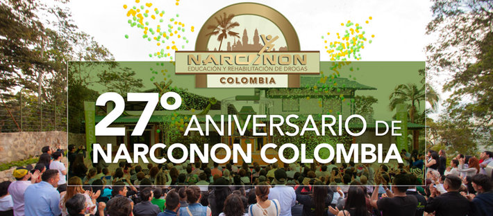 Narconon Colombia 27th Aniversario