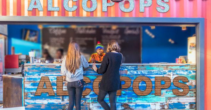Girls buy alcopops