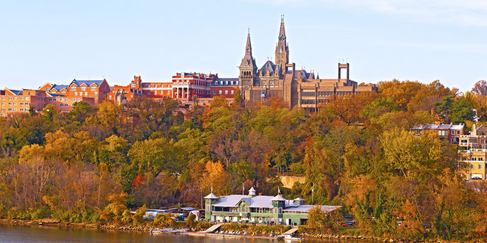 Georgetown University (Photo by Andre Medvede, Shutterstock.com)