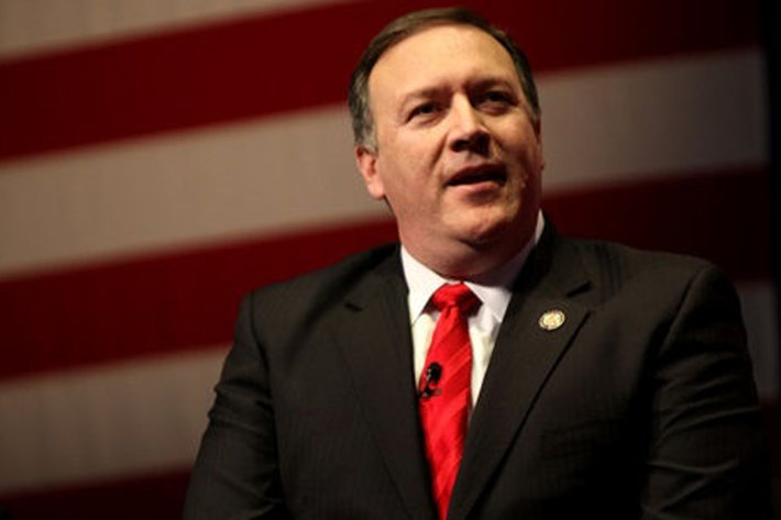 Secretary of State Mike Pompeo (photo credit: Christianity Today)