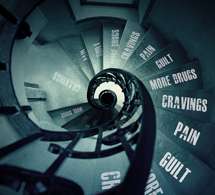 the vicious cycle of addiction