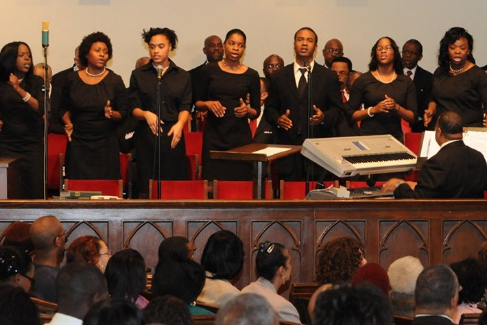 Choir of the Grace Baptist Church, Mount Vernon, NY