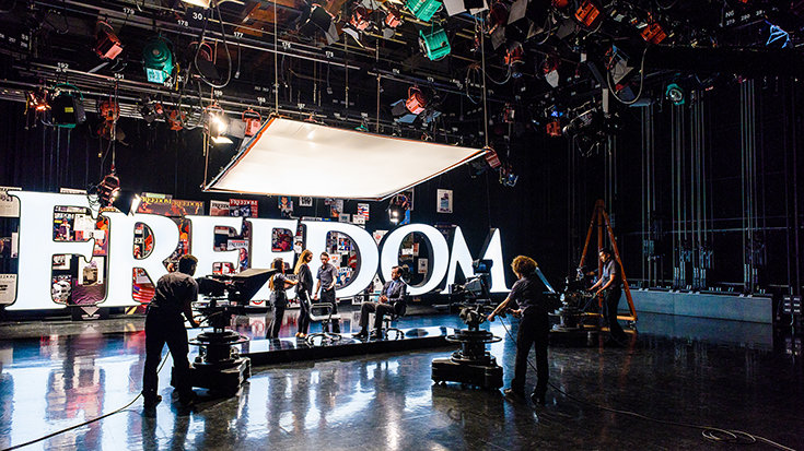 «Freedom» на телевидении