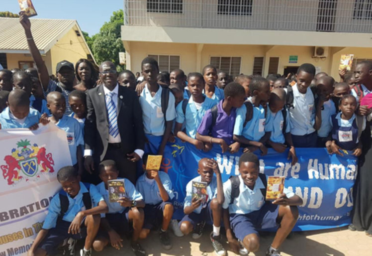 Helping ensure the rights of the next generation in the Gambia