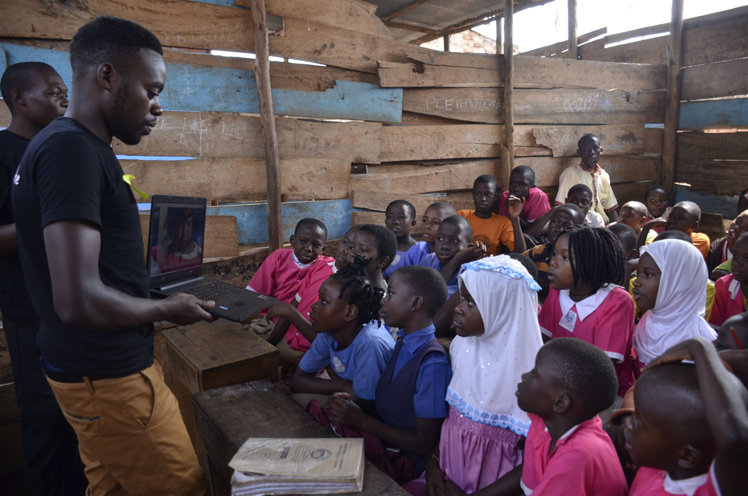 Teaching youth in Uganda their human rights