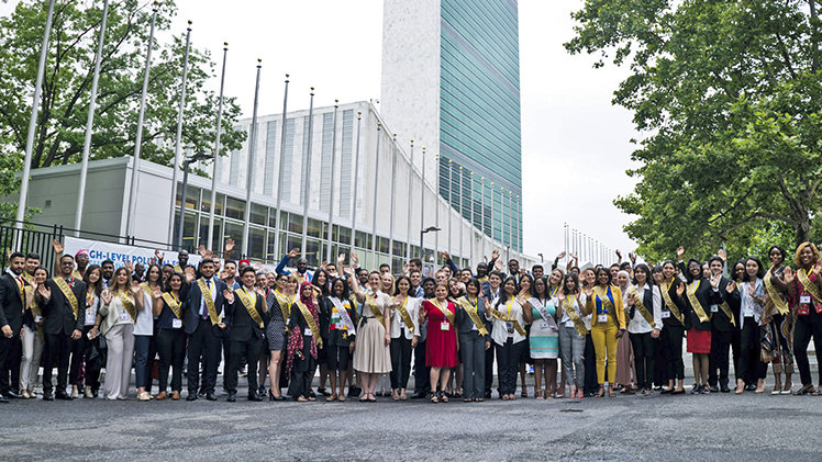15th annual Summit at the United Nations in New York in July 2018.