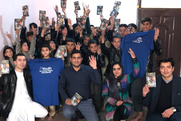 Youth for Human Rights chapter in Afghanistan