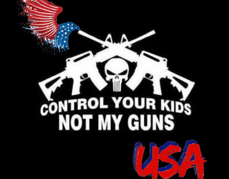 Cierra Westerman. Control your kids, not my guns!