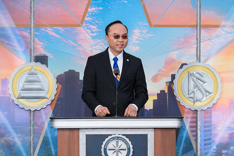 Houston DistrictF City Councilmember Dr.Steve Le