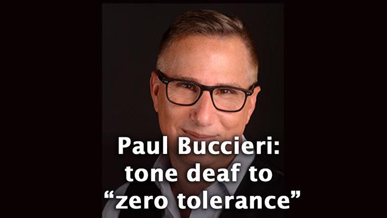 """When it Comes to Domestic Abuse, A&E's Buccieri Shuns """"Zero Tolerance"""""""