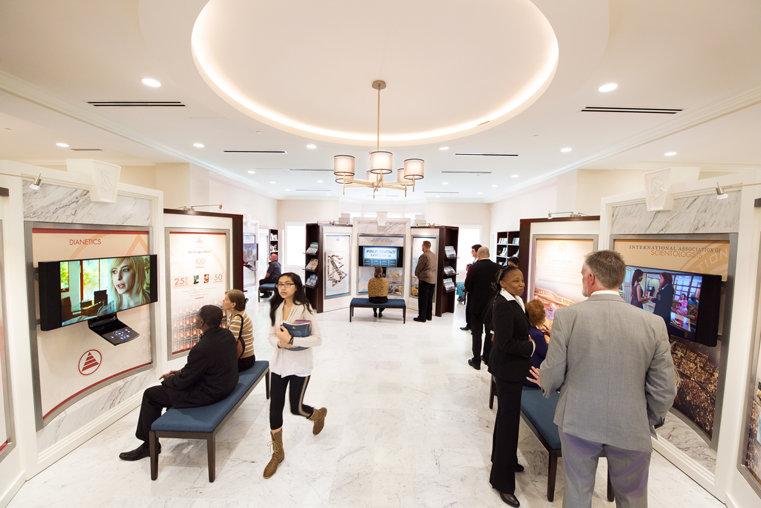 Scientology-kyrkan i Atlanta. Humanitära program