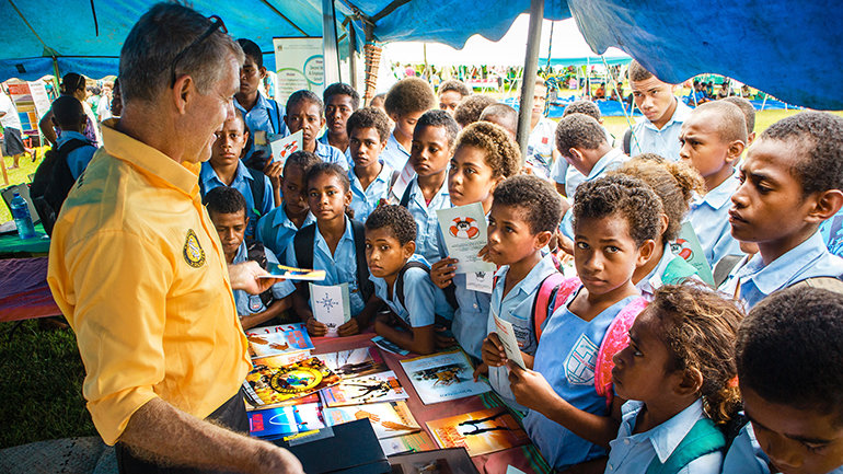 The Fiji Islands Welcome Volunteer Ministers Just In Time