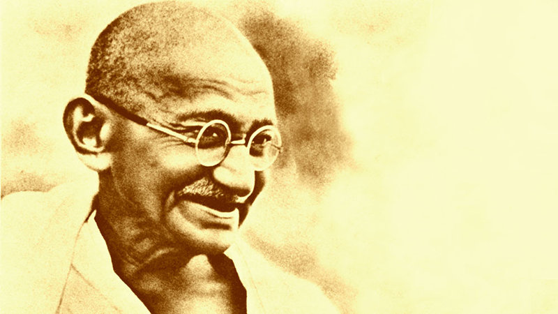 Mahatma Gandhi Spiritual Political Leader Youth For Human Rights