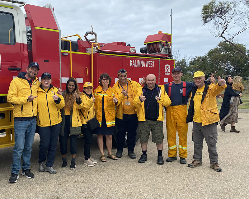 Since the fires started in November, Scientology Volunteer Ministers have been helping firefighters and those who have been affected by the conflagration.