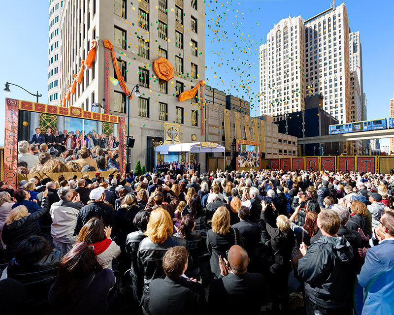 Made in Detroit: New Church of Scientology Now Stands at the Cornerstone of MotorCity,USA