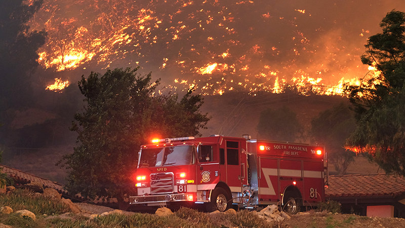 Volunteer Minister Disaster Relief for California Fires