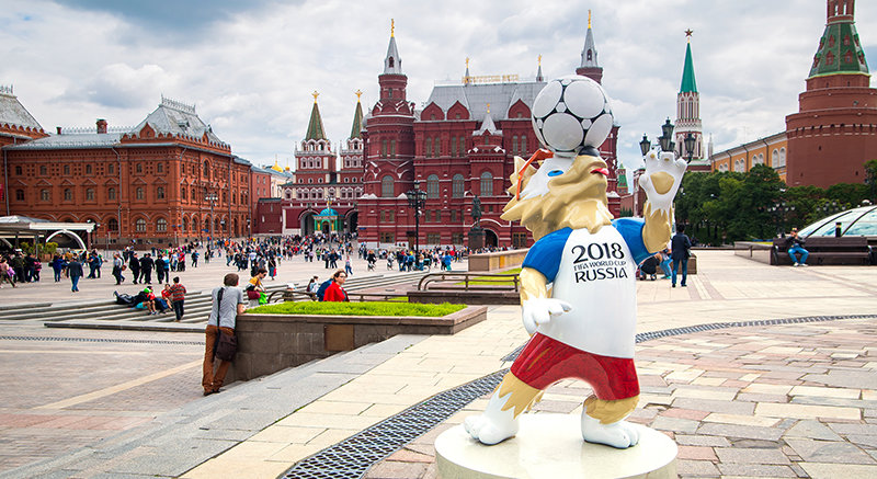 2018 FIFA World Cup in Moscow