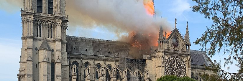 What Does a Cathedral on Fire Have To Do With You?