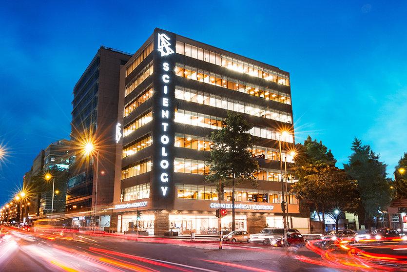 L'Église de Scientology de Bogotá.