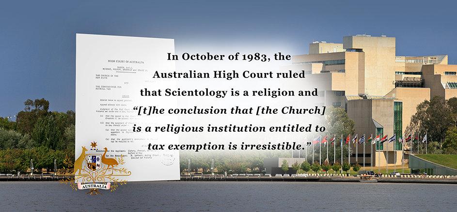 1983 Australian High Court Decision: Church of Scientology