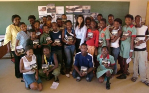 Los concursos de arte son una forma eficaz para que los jóvenes expresen su comprensión de los derechos humanos.