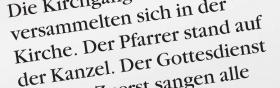 """1. Sie lesen beispielsweise den Satz: """"Der Pfarrer stand auf der Kanzel"""", und Sie sind sich nicht sicher, was das Wort """"Kanzel"""" bedeutet."""