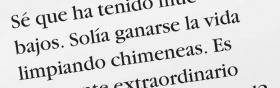 """1. Digamos que lees esta oración: """"Se ganaba la vida limpiando chimeneas"""" y no estás seguro del significado de chimeneas."""